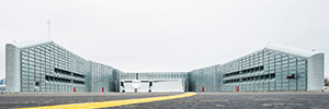 Image of Billy Bishop Airport entrance