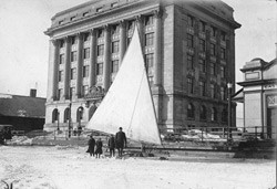 Historic photo of TPA building