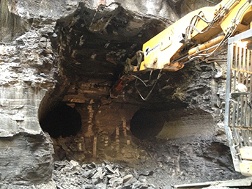 Tunnel excavation