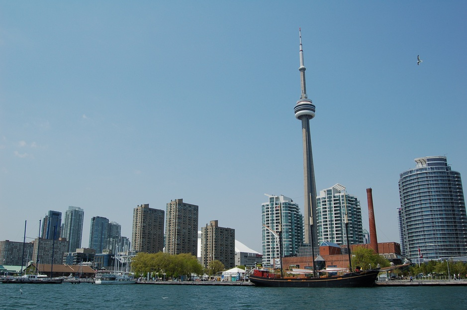Waters of Toronto Harbour